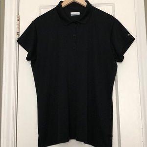 Columbia Black Polo Shirt